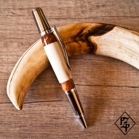 Sirocco stylo bille Ivoire de Phacochère