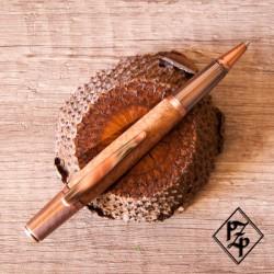 Sirocco stylo bille Bruyère cuivre vieilli