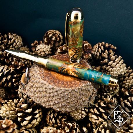 Mistral stylo roller en pignes de Pin et résine