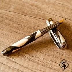 Mistral stylo plume en Ivoire de Mammouth et résine
