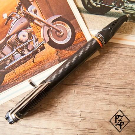 Stylo à thème Motorcycle - Fibre de carbone