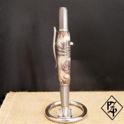 Sirocco stylo bille Mini pigne de pin et résine